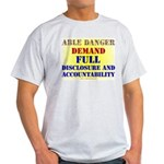 Able Danger Grey T-Shirt