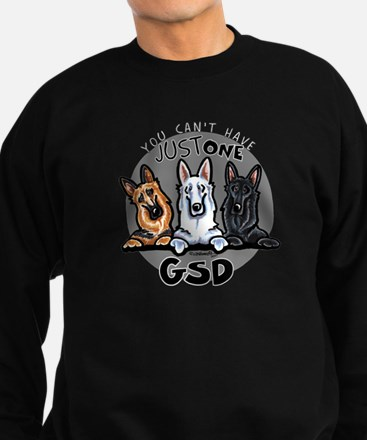 Just One GSD Sweatshirt (dark)