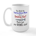 Downing St. Memo Large Mug