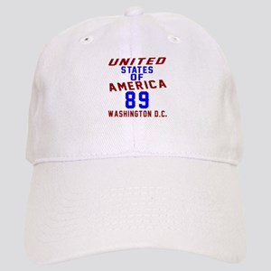 America 89 Birthday Cap
