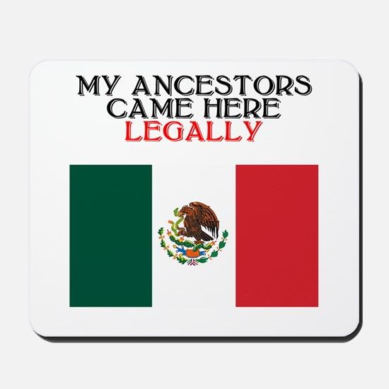 Mexican Heritage Mousepad