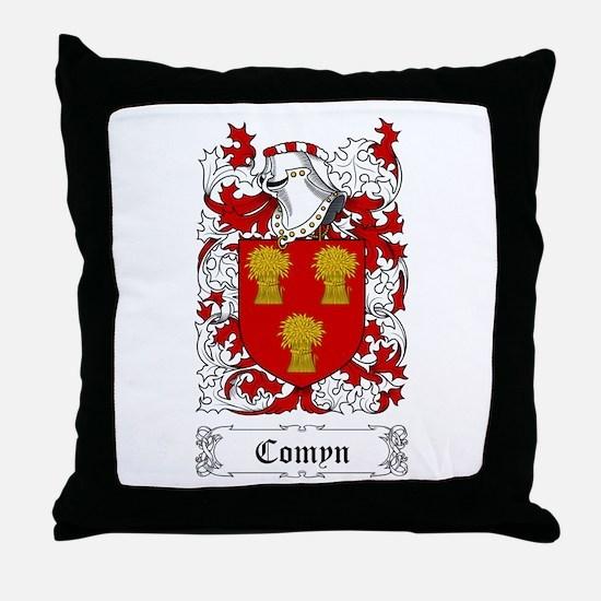 Comyn Throw Pillow