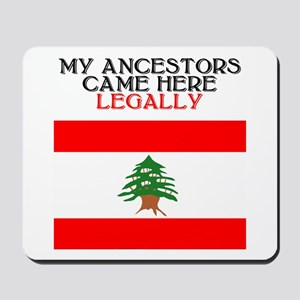Lebanese Heritage Mousepad