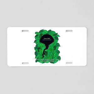 LOST Black Smoke Monster Aluminum License Plate