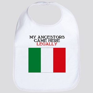 Italian Heritage Bib