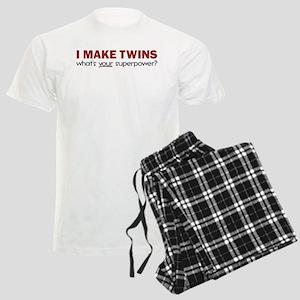 I MAKE TWINS Men's Light Pajamas