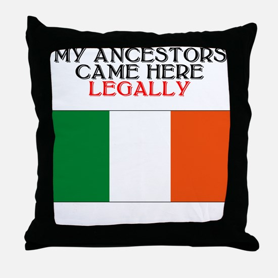 Irish Heritage Throw Pillow