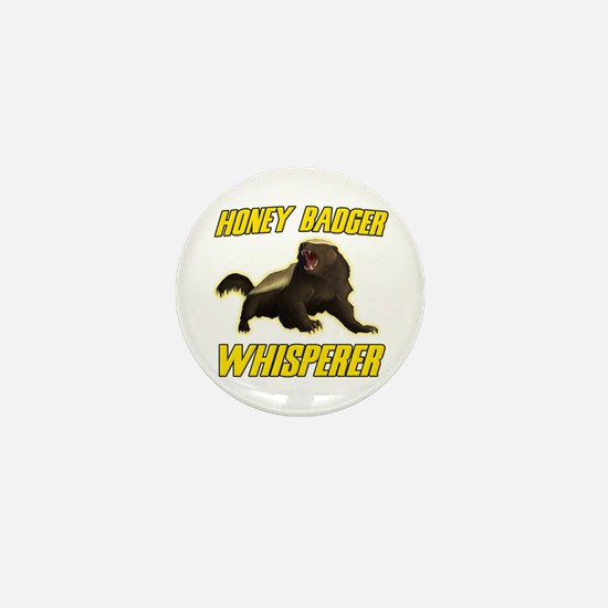 Honey Badger Whisperer Mini Button (100 pack)