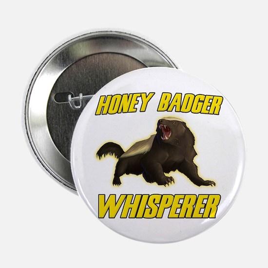 """Honey Badger Whisperer 2.25"""" Button (10 pack)"""
