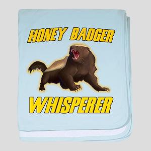 Honey Badger Whisperer baby blanket