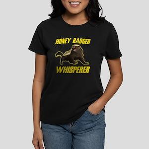 Honey Badger Whisperer Women's Dark T-Shirt