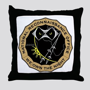 US National Reconnaissance Of Throw Pillow
