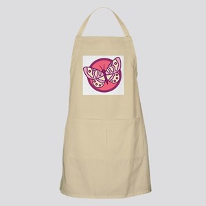 Pink Butterfly3 BBQ Apron