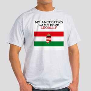 Hungarian Heritage Ash Grey T-Shirt