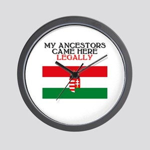 Hungarian Heritage Wall Clock