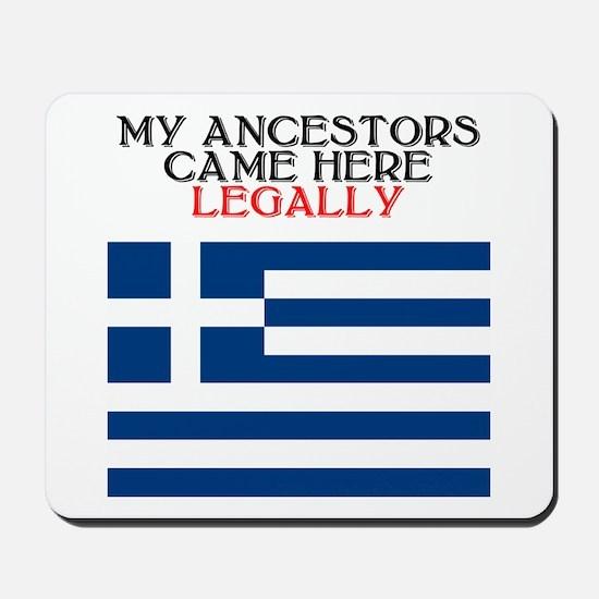 Greek Heritage Mousepad