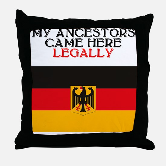 German Heritage Throw Pillow