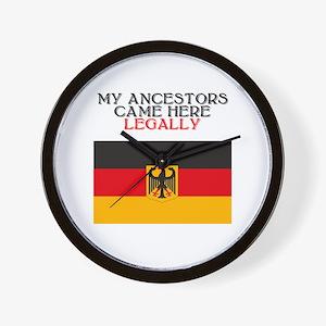 German Heritage Wall Clock