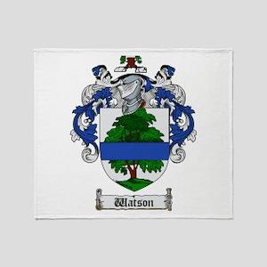 Clan Watson (Scottland) Throw Blanket