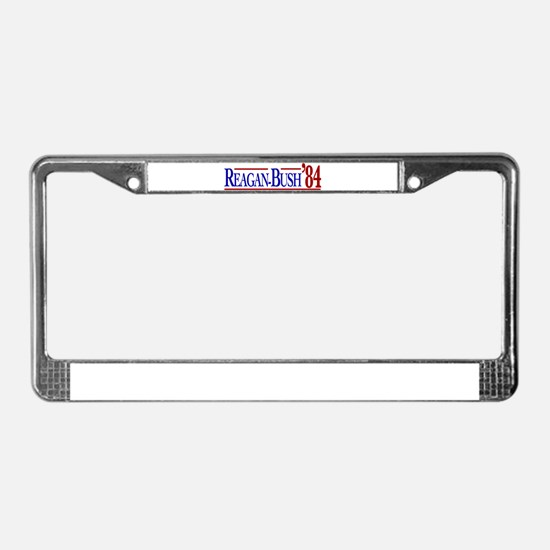 Reagan-Bush 84 Presidential E License Plate Frame