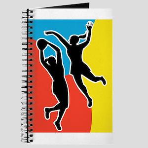 netball player jumping Journal