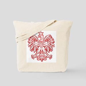 Polish Eagle Emblem Tote Bag