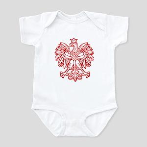 Polish Eagle Emblem Infant Creeper