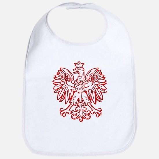Polish Eagle Emblem Bib
