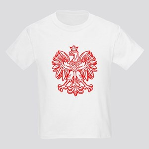 Polish Eagle Emblem Kids T-Shirt