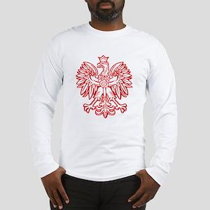 Polish Eagle Emblem Long Sleeve T-Shirt