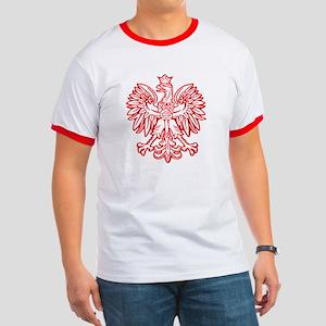 Polish Eagle Emblem Ringer T