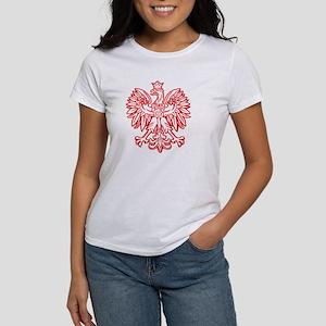 Polish Eagle Emblem Women's T-Shirt