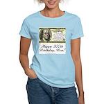 Ben Franklin Taxes Women's Pink T-Shirt