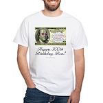 Ben Franklin Taxes White T-Shirt