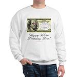 Ben Franklin Taxes Sweatshirt