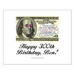 Ben Franklin Taxes Small Poster
