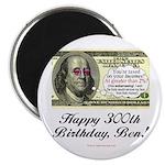 Ben Franklin Taxes Magnet