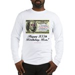 Ben Franklin Taxes Long Sleeve T-Shirt