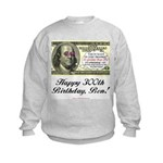 Ben Franklin Taxes Kids Sweatshirt
