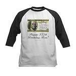 Ben Franklin Taxes Kids Baseball Jersey