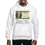 Ben Franklin Taxes Hooded Sweatshirt