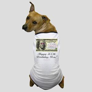 Ben Franklin Taxes Dog T-Shirt