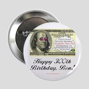 Ben Franklin Taxes Button