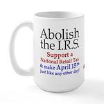 Abolish IRS Lge Mug