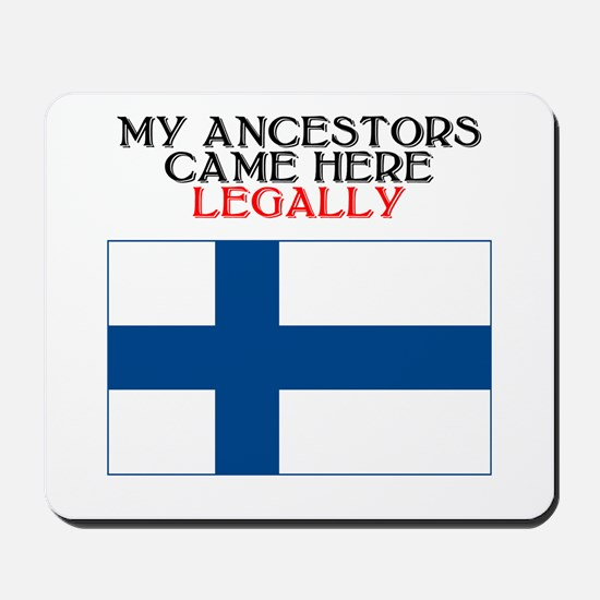 Finnish Heritage Mousepad