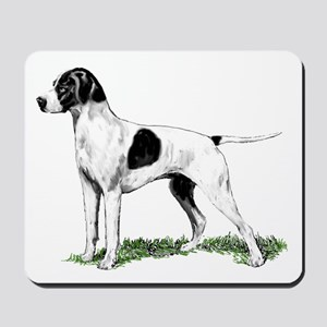 English Pointer Standing Mousepad