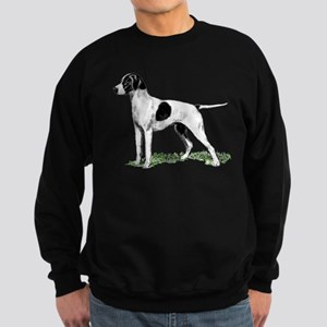 English Pointer Standing Sweatshirt (dark)