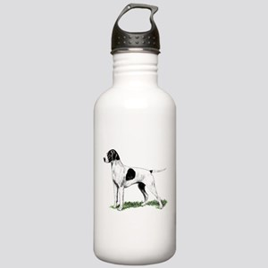 English Pointer Standing Stainless Water Bottle 1.