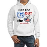 Get the U.N. Out! Hooded Sweat