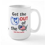 U.N. Out! Large Mug
